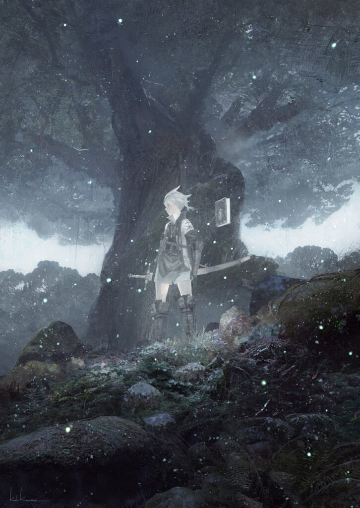 Nier Forest of Myth - Image Courtesy of Nier Wiki