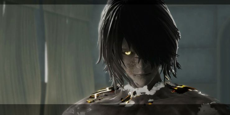 Shadowlord face - image courtesy of Game Rant