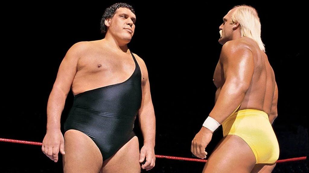Andre the Giant WWE vs. Hulk Hogan