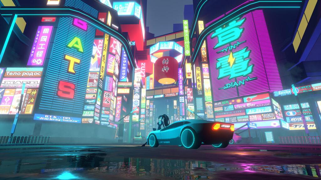 The cityscape in Anno Mutationem