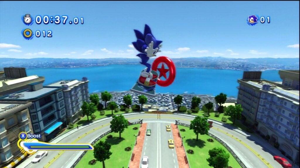 Sonic Generations City Escape