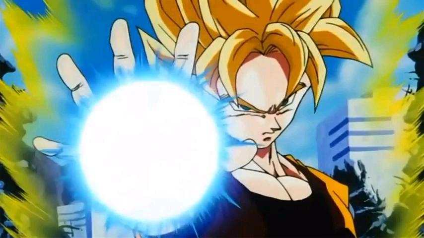 Dragon Ball ki power system