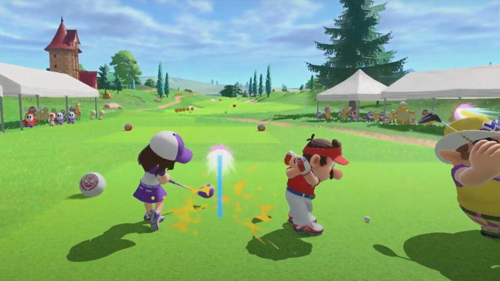 Mario Golf: Super Rush Golf Adventure Mode