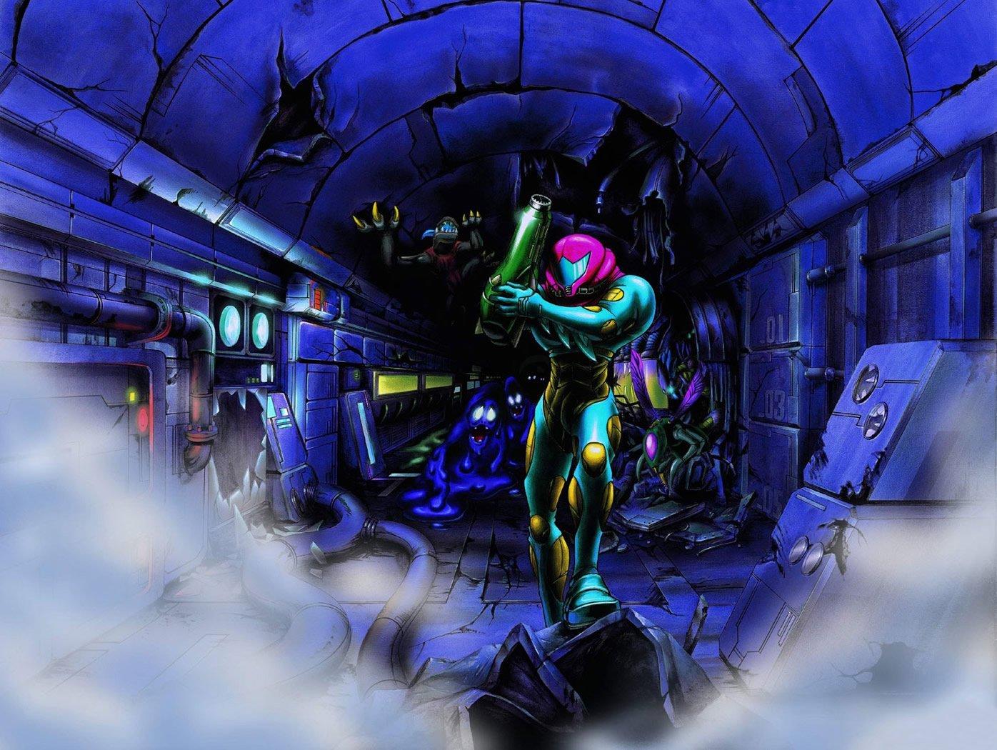 Metroid Fusion Concept art - image courtesy of Metroid Recon