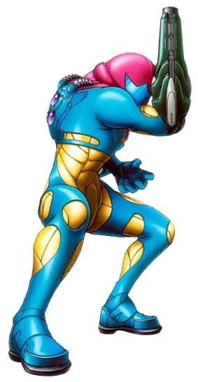 Samus Fusion Suit - image courtesy of Metroid Wiki