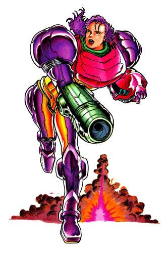 Samus Gravity Suit