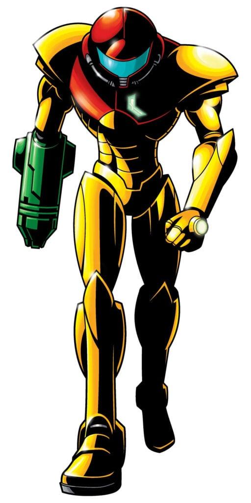 Zero Mission Power Suit - image courtesy of wikitroid