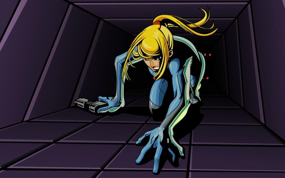 Zero Suit Crawl - image courtesy of Wikitroid