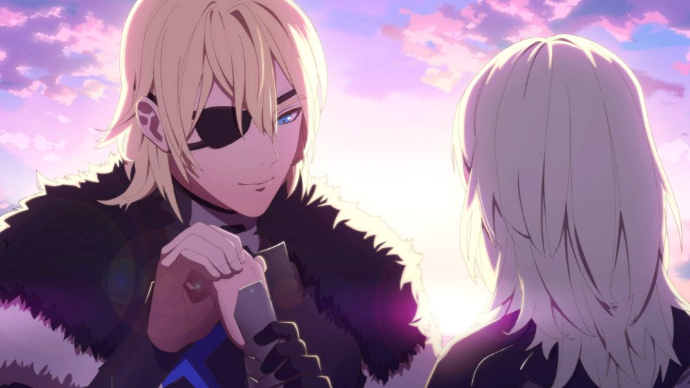 An image of Dimitri's S support scene.