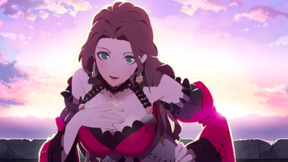 An image of Dorothea's S support scene.