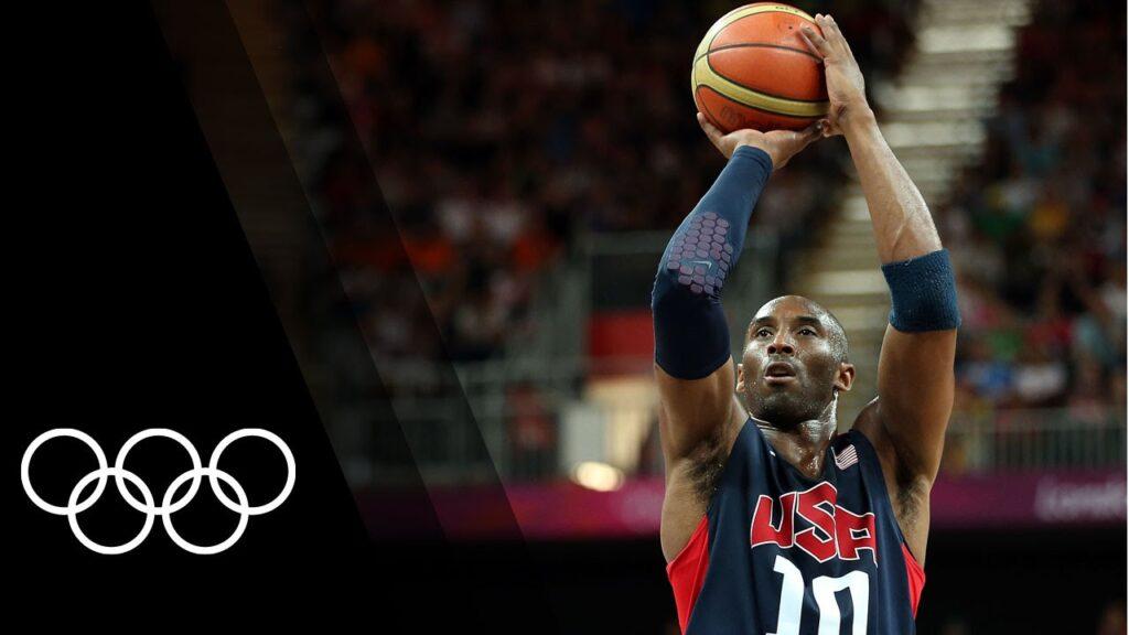 Kobe Bryan Dream Team Gold Medal Olympics