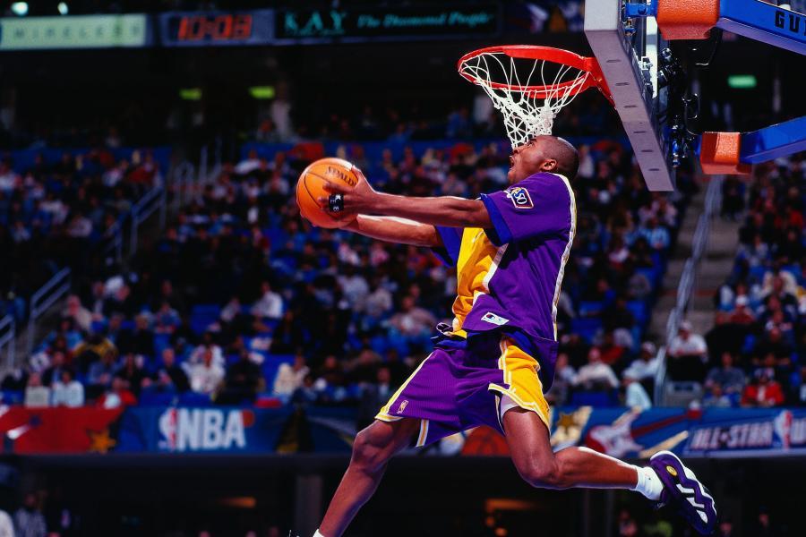 Kobe Bryan Slam Dunk Contest
