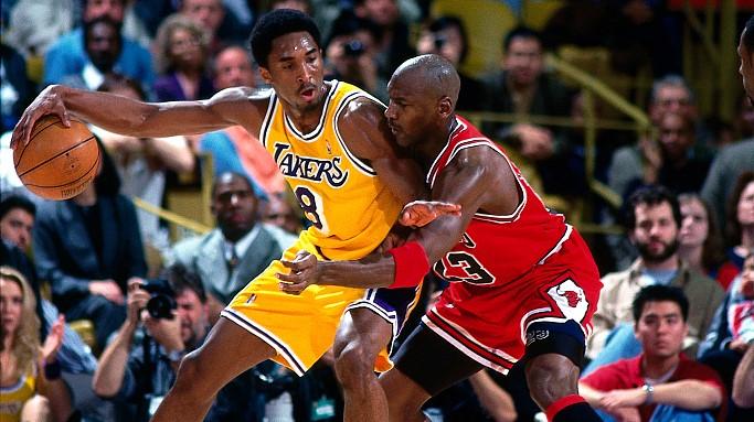 Kobe Bryan drops 45 on Michael Jordan