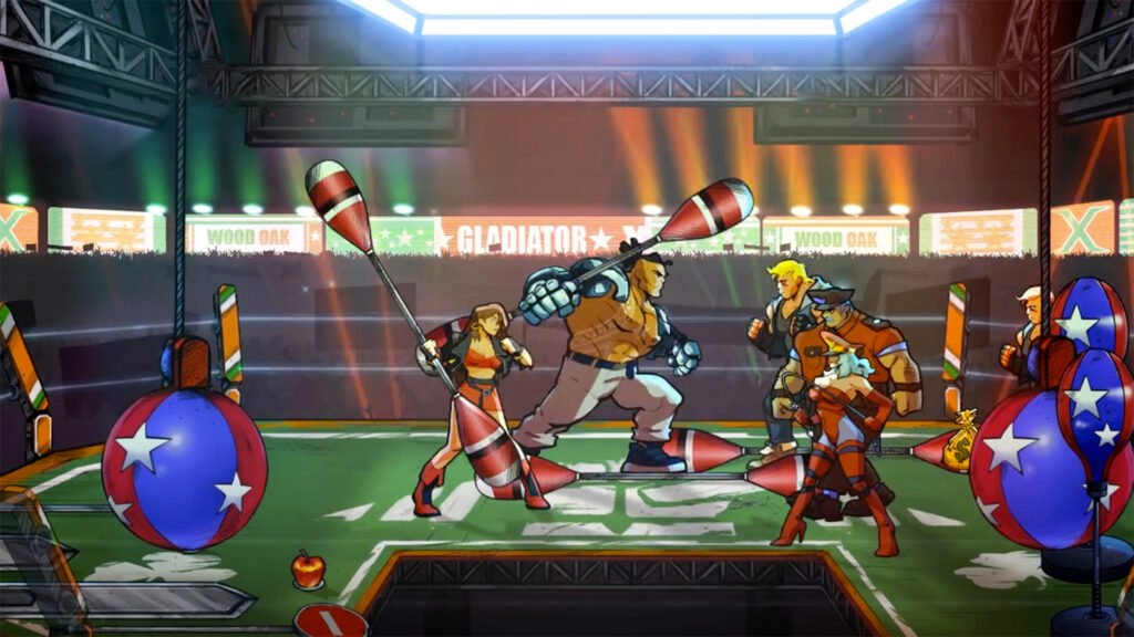 Streets of Rage 4 survival mode Floyd and Blaze