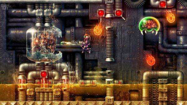 Super Metroid Mother Brain Boss Battle