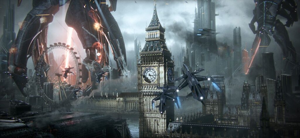 The Reapers Attack (Mass Effect 3)