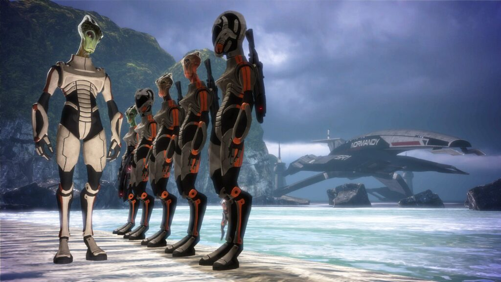 The Virmire Decision (Mass Effect)