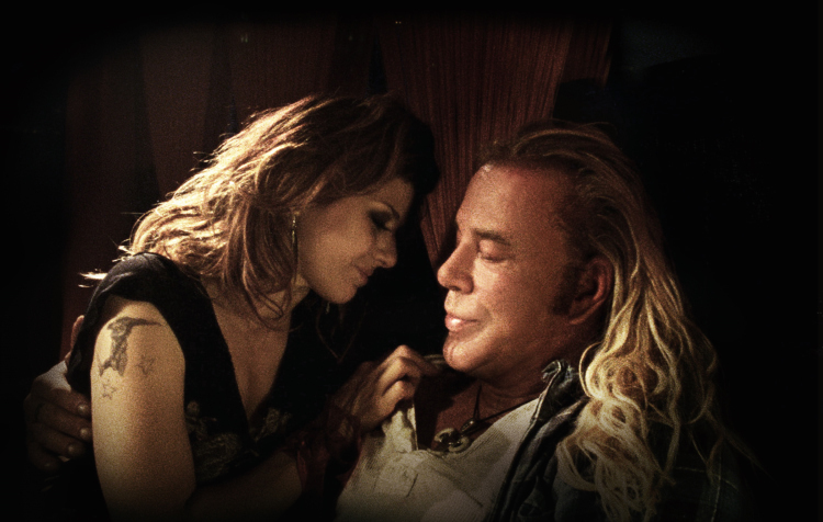 The Wrestler movie review 2008