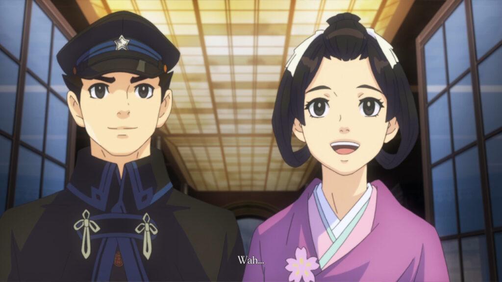 Ryunosuke and Susato