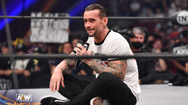 CM Punk in AEW
