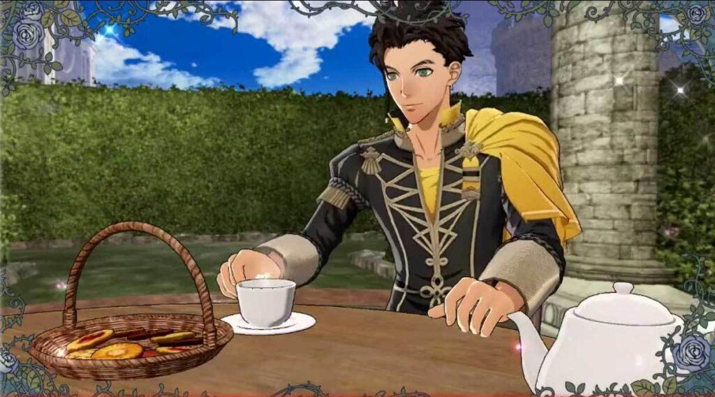 Three Houses tea with Claude