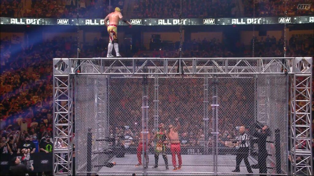The Young Bucks (c) vs The Lucha Bros
