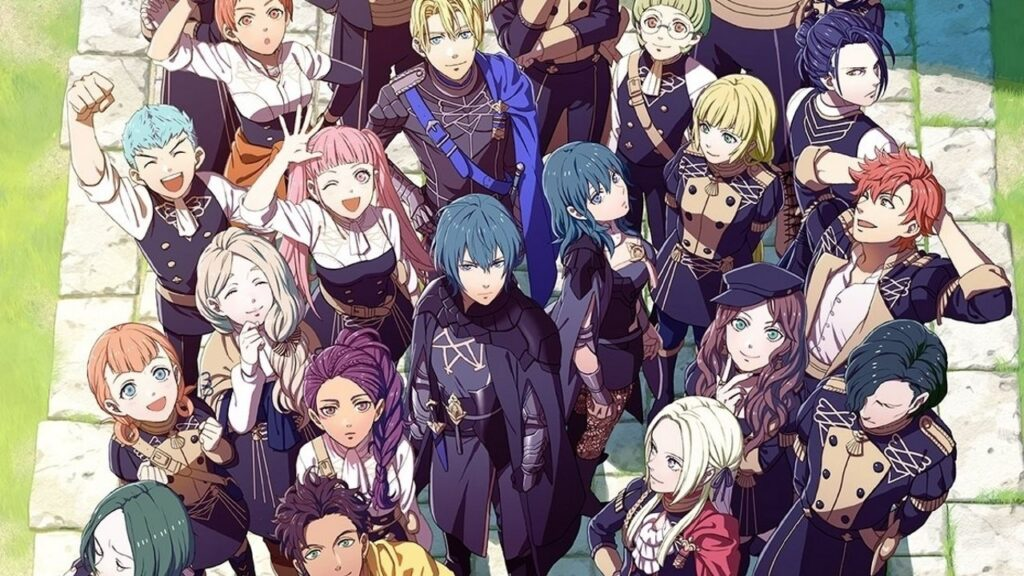 Three Houses cast of characters