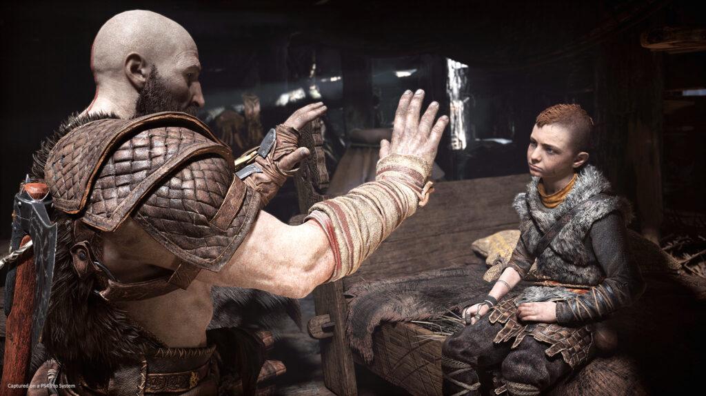 Atreus and Kratos