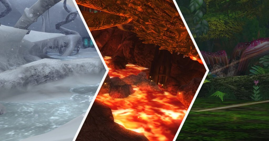 Metroid other M stages - image courtesy of metroid wiki
