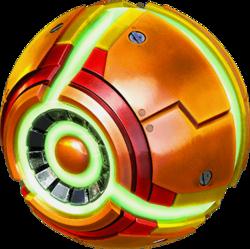 Morph Ball Samus Returns - image courtesy of wikitroid