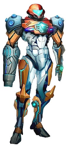 Metroid Prime 3 Corruption PED Suit - image courtesy of metroid wiki