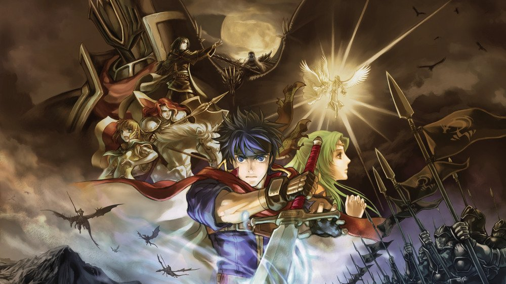 The main official art for Path of Radiance.