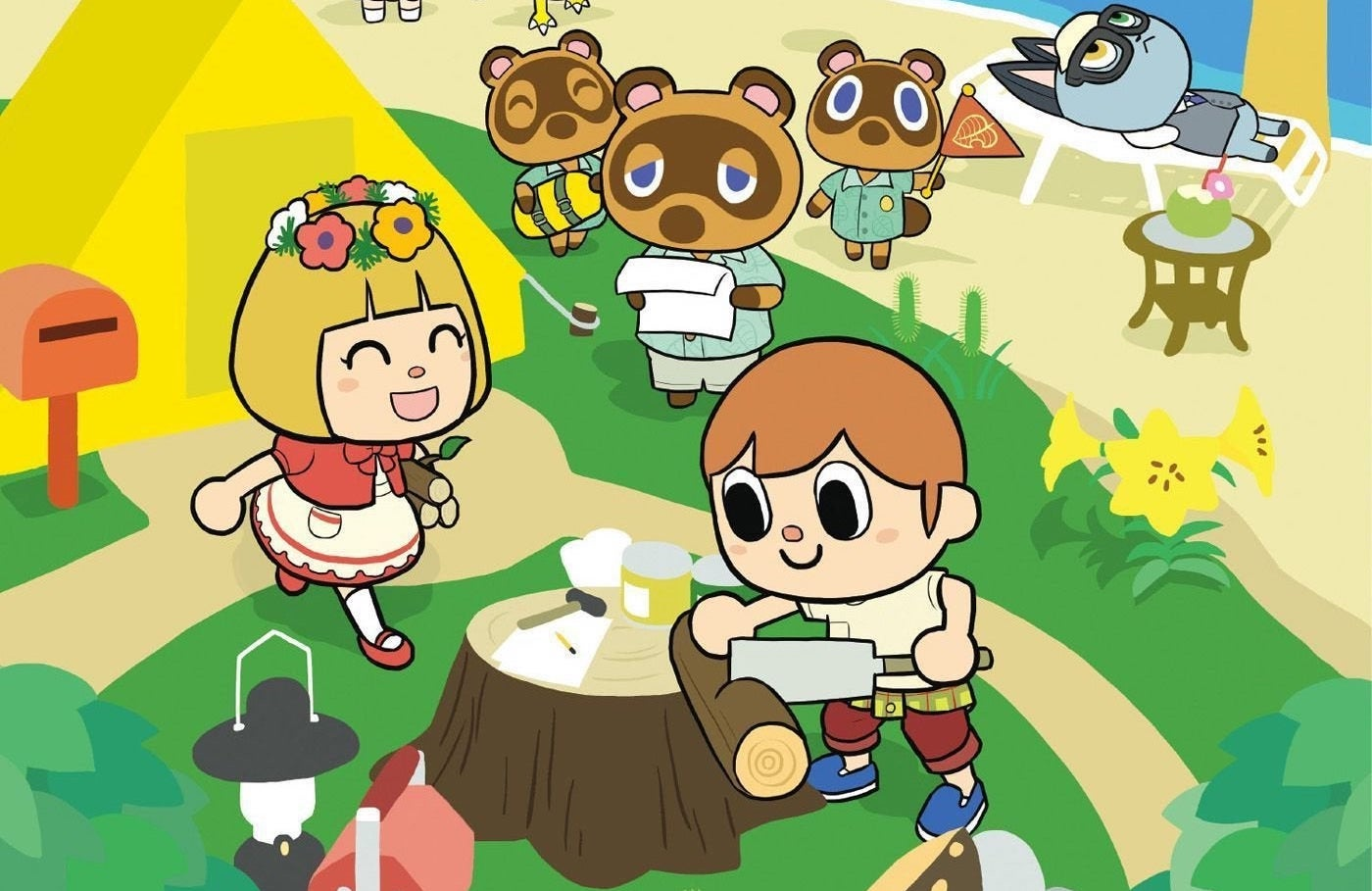 Animal Crossing: New Horizons Vol. 1 Deserted Island Diaries