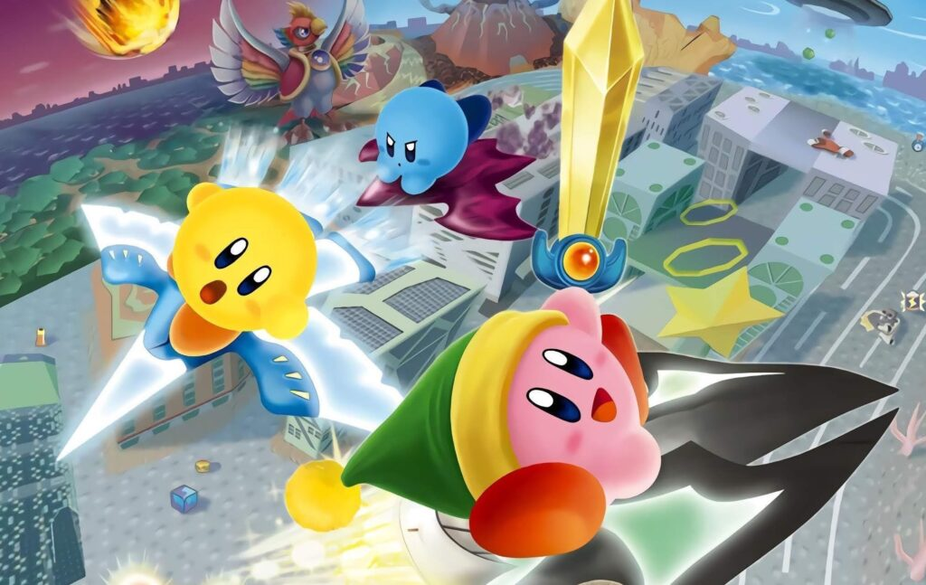Kirby and the forgotten land air rides