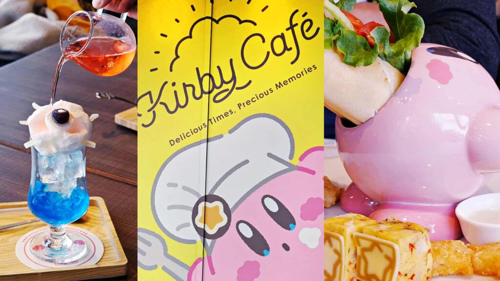Kirby and the forgotten land kirby café