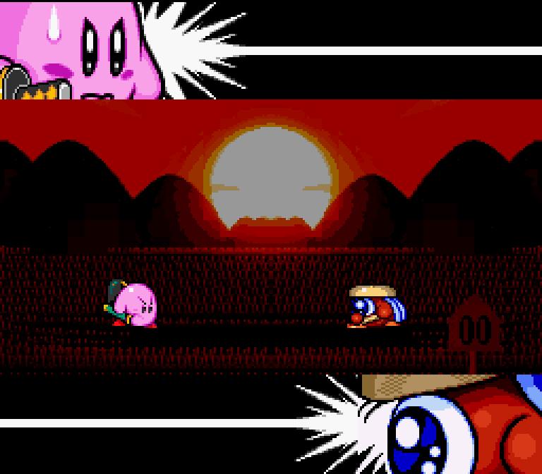 Kirby and the forgotten land samurai kirby