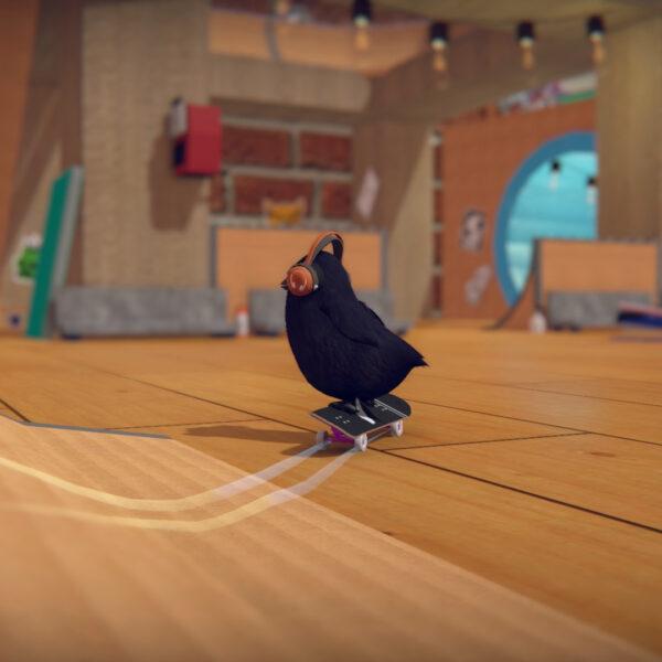 SkateBIRD Review for Nintendo Switch Glass Bottom Games