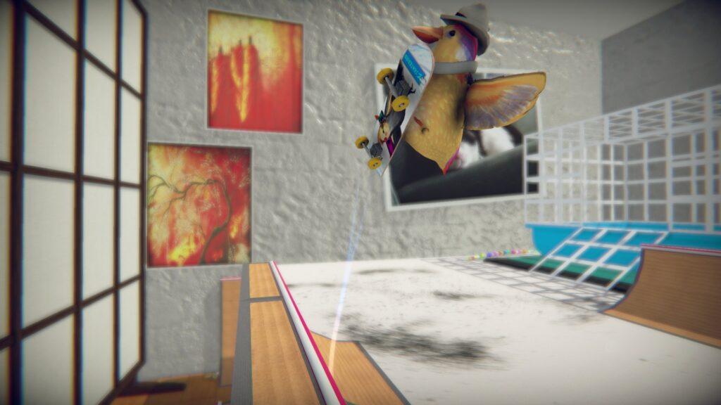 SkateBIRD Review Glass Bottom Games Nintendo Switch