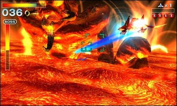 Star Fox 64 3D boss