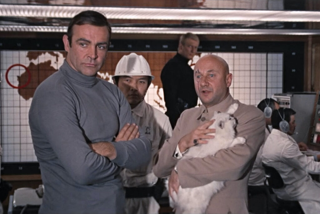 You Only Live Twice– Bond Meets Blofeld