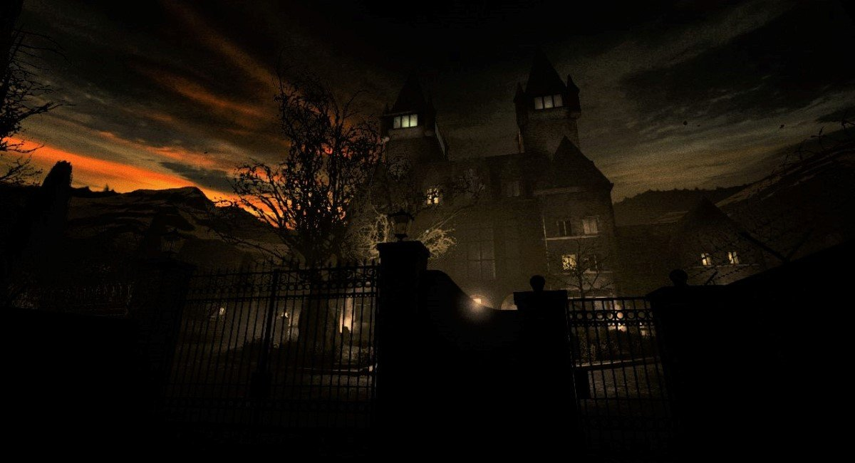Asylum in evening light