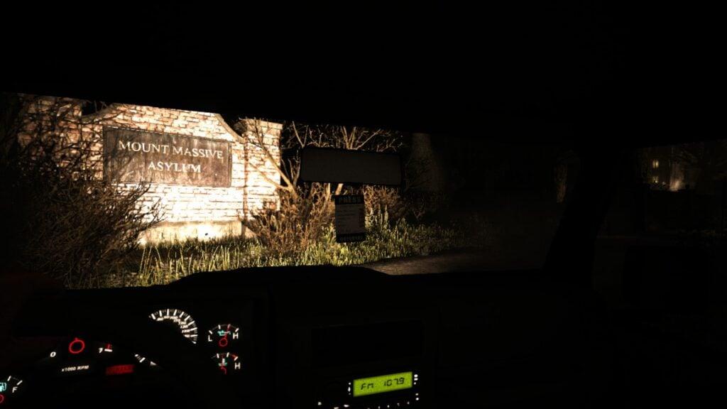 Outlast: approaching the asylum