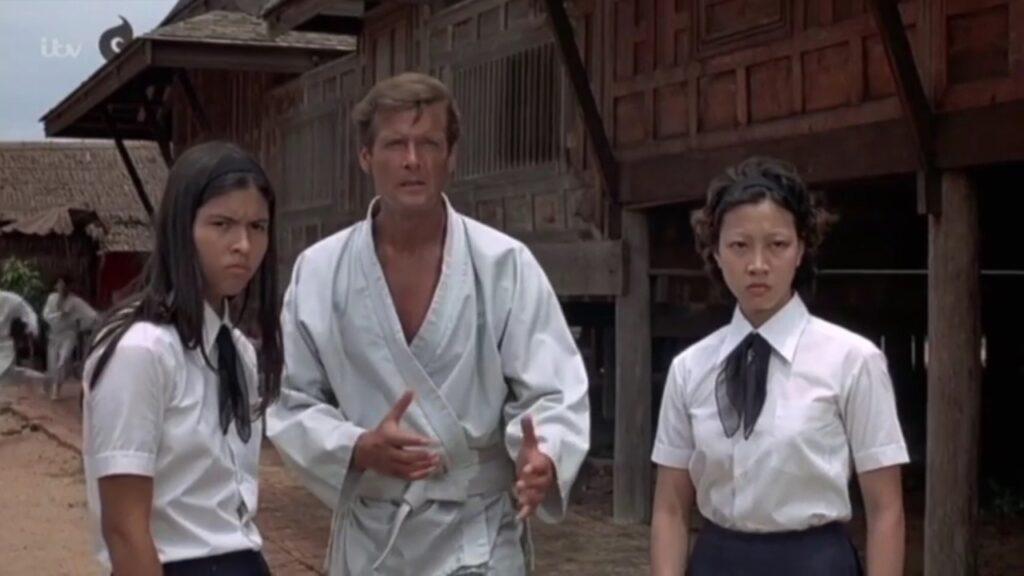 Roger Moore Best James Bond scenes