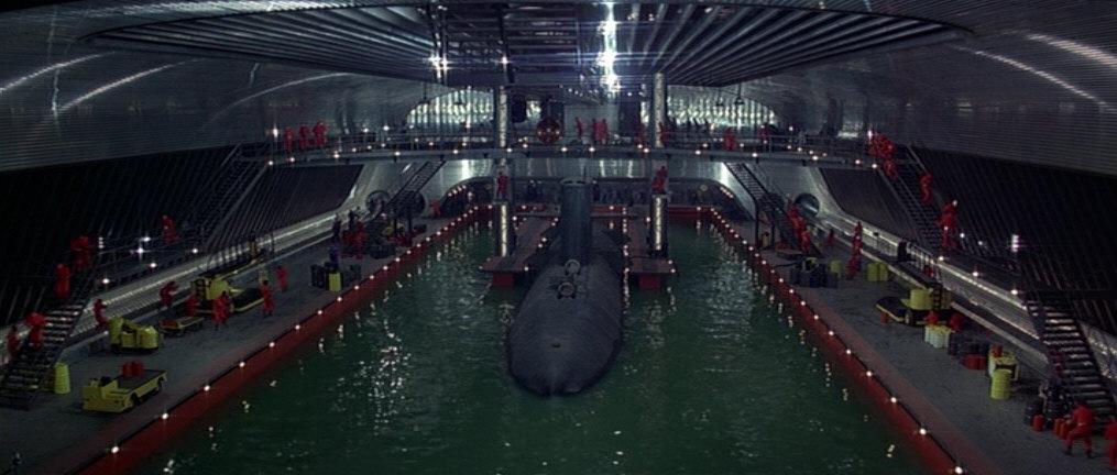 Spy Who Loved Me submarine