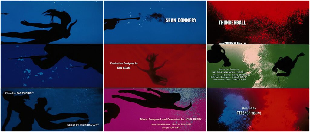 Thunderball title sequence
