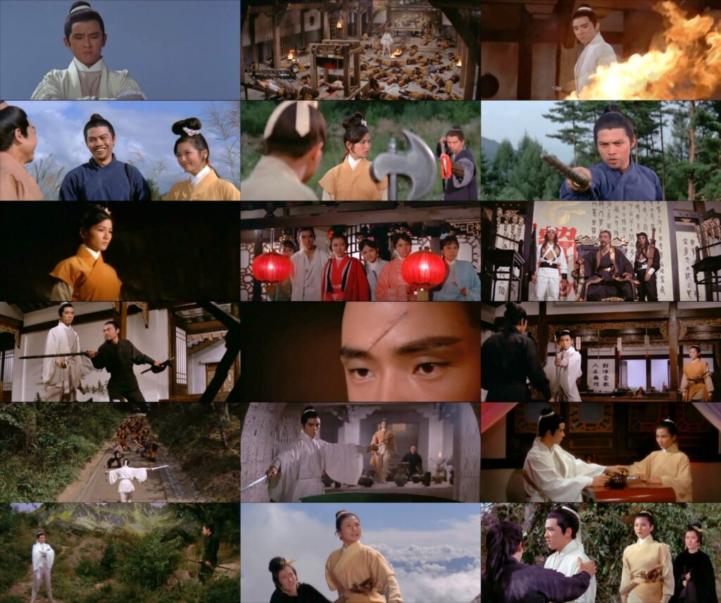 Golden Swallow 1968 Shaw Bros. film review