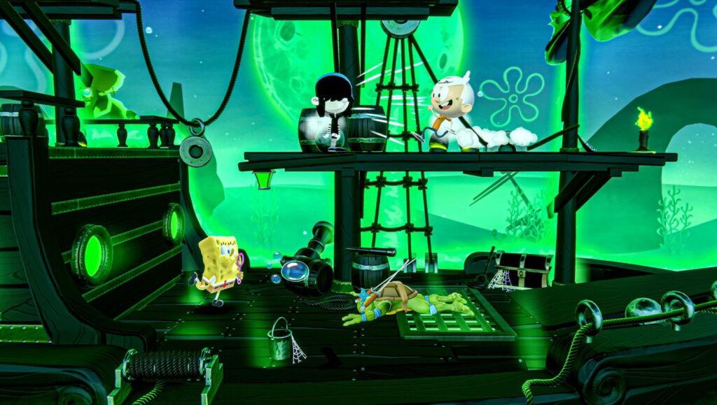 Nickelodeon All-Star Brawl Super Smash Bros. like game review